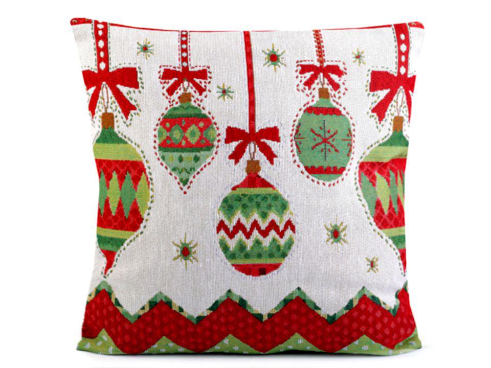 Karácsonyi párna huzat 44x44 cm gobelin  9d86965882