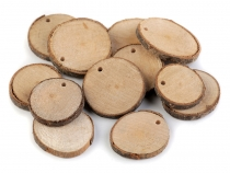 Natural Wood Branch Slice / Wood Circle