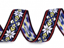 Native Indian Trim / Patterned Ribbon width 24 mm