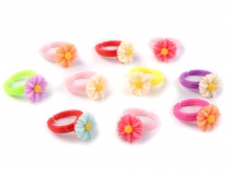 Children Rings Mix of Assorted Colours