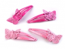 Snap Hair Clip Butterfly
