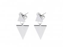 Stainless Steel Earrings Triangle