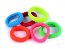 Mini Hair Elastic Ties Neon mix