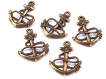 Pendant Anchor 18x24 mm 2nd quality