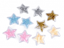 Star Applique filled with Sequins