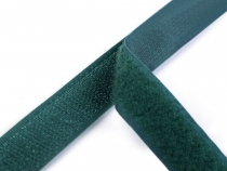 Hook and Loop Fastener width 20 mm dark green
