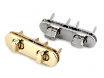 Handbag Lock Set 15x55 mm