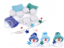 DIY Snowman Kit 3 pcs